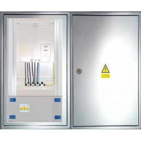 Elektroměrový rozvaděč nerezový ER 112/OVP7P-N