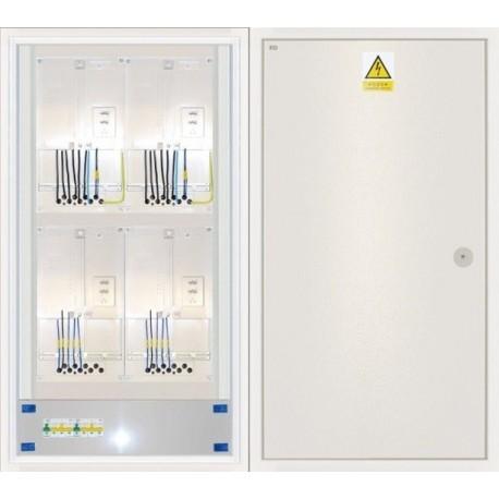 Elektroměrový rozvaděč ER 222/OVP7P