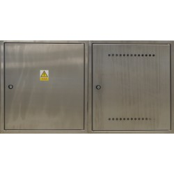 Sestava rozvaděčů nerez ER 212/OVP7P-N + Dvířka pro HUP