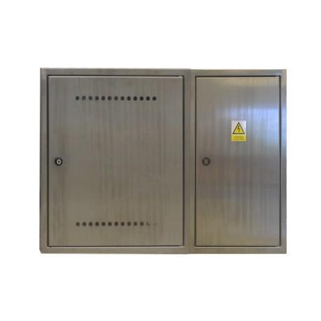 Sestava rozvaděčů nerez ER 112/OVP7P-N + Dvířka pro HUP