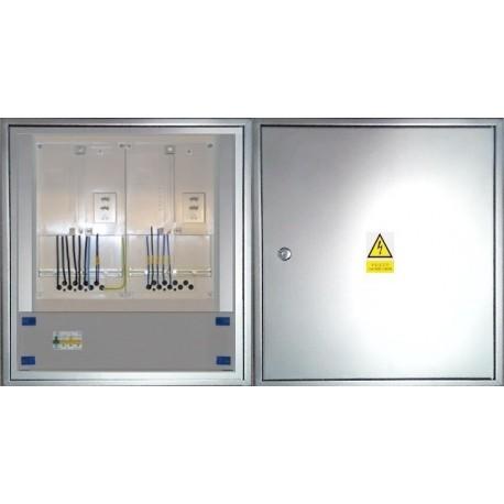 Elektroměrový rozvaděč nerezový ER 212/OVP7P-N
